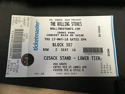 rolling stones tickets for sale 17may dublin
