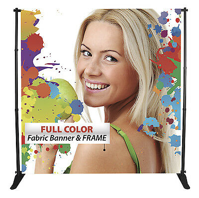 Selfie Backdrop Banner & Stand Package (Your artwork - Full color, 10'x8')