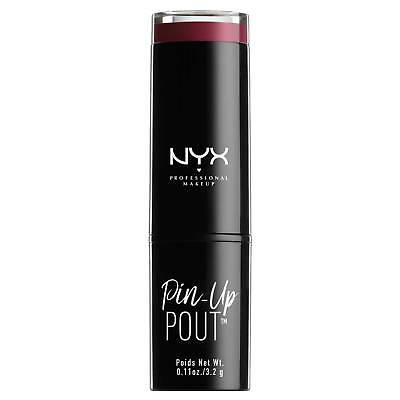 NYX Professional Makeup Pin-Up Pout - Lipstick Revolution Purple - 0.11oz
