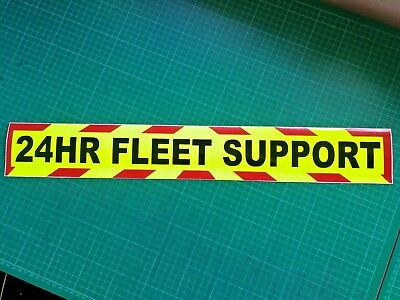 24hr FLEET SUPPORT MAGNET MAGNETIC Lorry Truck Trailer CHEVRON Towing GARAGE