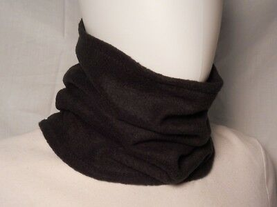 Boys Black Fleece Youth Girl Neck Face Warmer Gaiter USA Tube Scarf Shield Mask