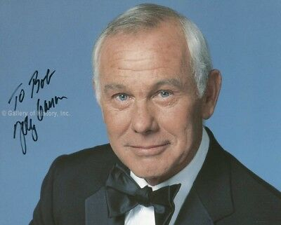 Johnny Carson - Inscribed Photograph Signed