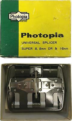 PRE-OWNED Photopia Universal Splicer Super 8 8MM DR & 16MM