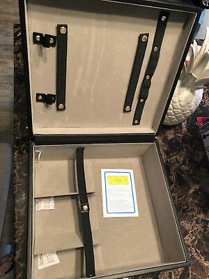 "Collin Brothers Travel Bar - For 3 Bottles ""just the case""  (bottlenot included)"