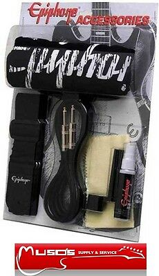 Epiphone T-shirt and accessories pack $49