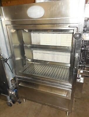 Used! Old Hickory N/3Gsr -  Rotisserie Gas-Fried With 3 Spits