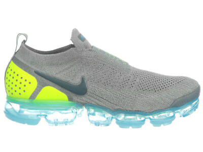 New Mens Nike Air Vapormax Flyknit Moc 2 Running Shoes Trainers Mica Green / Vol