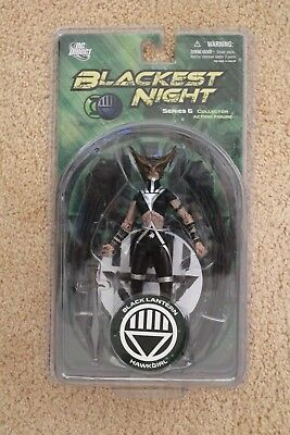 Dc Direct Blackest Night Series 6 Black Lantern Hawkgirl Figure