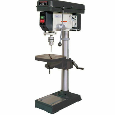 Jet J-2530 115V 1PH 15 in. Bench Model Drill Press with Large Quill New