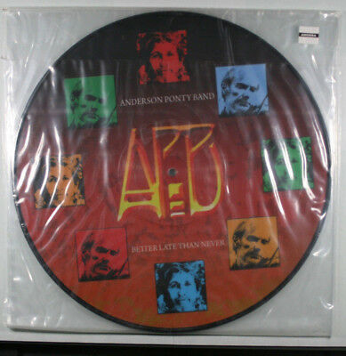 ANDERSON PONTY BAND Better Late Than Never NEW PICTURE DISC VINYL/YES/Jean Luc