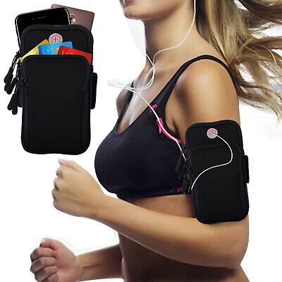 Gym Sport Running Jogging Armband Arm Band Pouch Holder Bag For iPhone 7/8 Plus
