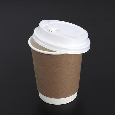 Kraft Paper Disposable Thicken Coffee Cup Julice Cup Milky Mug for Takeout