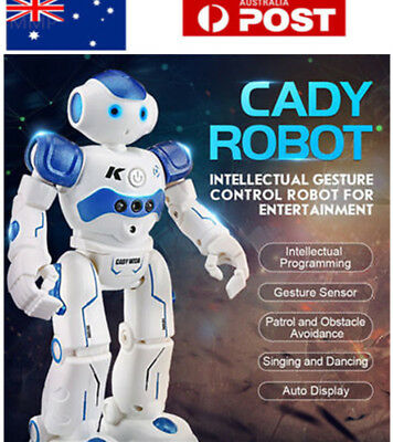 Intelligent JJRC R2 Gesture Control Programmable Dancing USB RC Robot Kids Toy