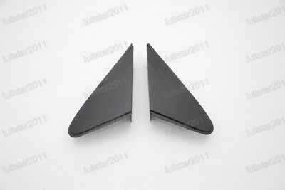 1Pair Front Mirror Window Triangle Covers Panels for Chevrolet Cruze 2009-2014