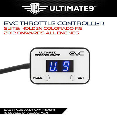 IDRIVE FOR HOLDEN COLORADO RG 2012-On ALL ENGINES THOTTLE CONTROLLER WIND BOOSTE