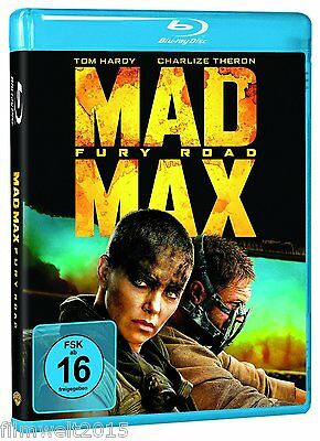 Mad Max: Teil 4 - Fury Road - 6 Oscars [Blu-ray/NEU/OVP] Tom Hardy/George Miller