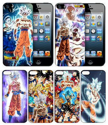 New! Dragon Ball Super Goku UI White Ultra Instinct Phone Case Cover for iPhone