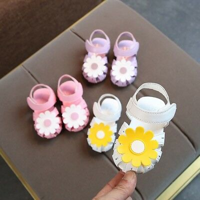 Fashion Kids Infant Girls Princess Sandals Summer Beach Party Soft Casual Shoes