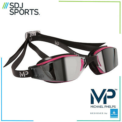 Michael Phelps MP Xceed Ladies Mirror Racing Swimming Goggles With Anti-Fog