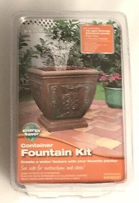 NEW Total Pond Container Fountain Kit A16531 SEALED in UNOPENED PACKAGE