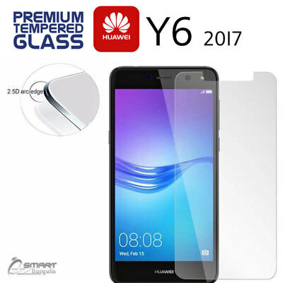 Tempered Glass Screen Protector Guard For Huawei Y6 2017 / Y5  2017