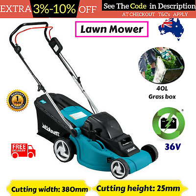 NEW MAKITA DLM380Z cordless lawn mower 36v(18vx2) lithium ion battery skin only