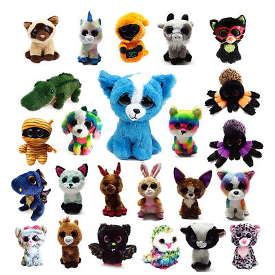"6"" TY Beanie Boos Plush Stuffed Animals Tamoo Teddy Soft Doll Toys Without Tag"
