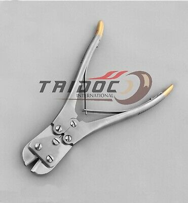 """Orthopedic T/C Meade Pin Wire & Plate Cutter 9.5"""" Pliers  Surgical Instruments"""