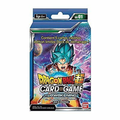 Dragon Ball - Starter serie 01 Super Card Games jeu de carte à collectionner VF