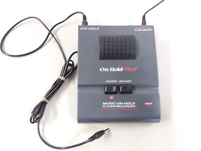 On-Hold Plus Ohp 3000-8 Digital Flash Memory Music-On-Hold Player/recorder