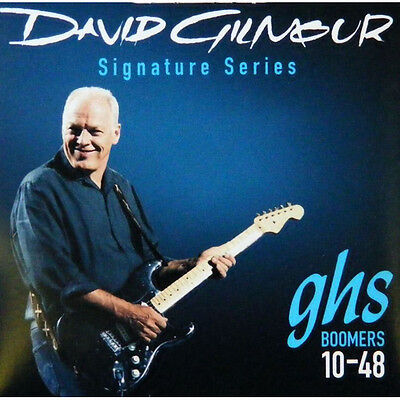 GHS GB-DGF David Gilmour Boomers Electric Guitar Strings 10-48 signature set
