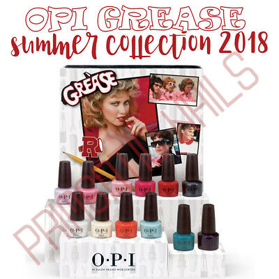 OPI ~*** GREASE*** Summer 2018 Collection~ NAIL POLISH, NEW, UNUSED, AUTHENTIC!