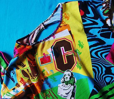 T-SHIRT woman  vintage 90's VERSACE JEANS COUTURE TG.XS  made Italy Rare