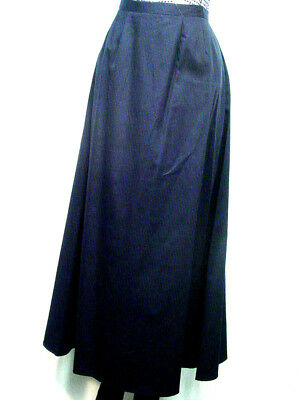Ladies Victorian Old West style walking skirt Navy Blue Sizes XSmall to XXLarge