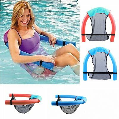 Portable Swimming Pool Super Buoyant Plastic Foam Floating Chair 6.5*150cm MA