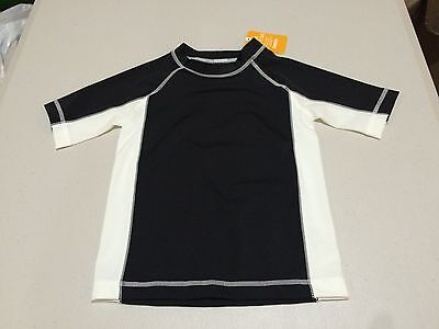NWT Gymboree boy rash guard Black Colorblock Shirt Top ManySizes