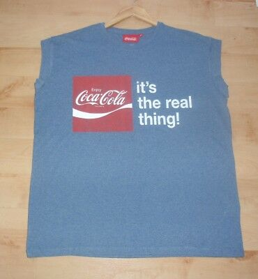 2b525e8e BNWT Primark womens blue Coca Cola - Its the real thing t-shirt - various
