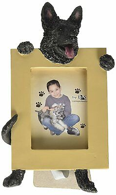 German Shepherd Black Dog Picture Photo Frame