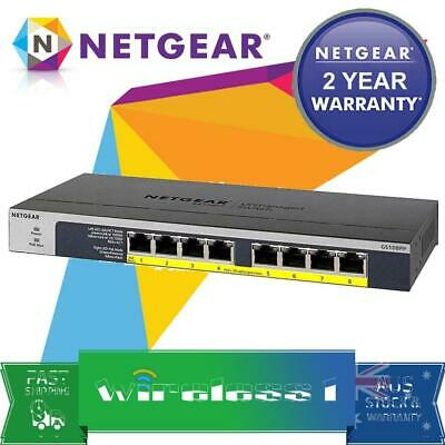 Netgear GS108PP 8-port Gigabit Ethernet PoE+ Unmanaged Switch