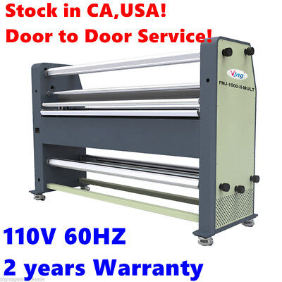 "USA Stock! 110V 60HZ  63"" New Type Full - auto Wide Format Hot / cold laminator"