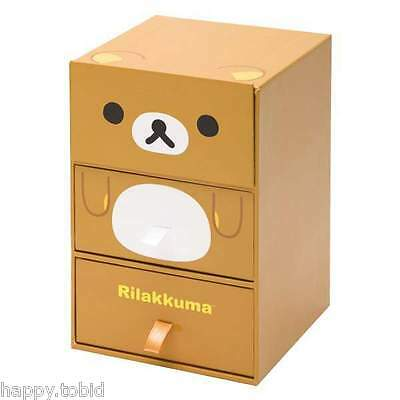 San-X Rilakkuma Jewelry Box Accessory Box Mini Drawer from Japan