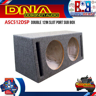 Dna Asc512Dsp Double 12In Slot Port Sub Box Mobile Audio ASC512DSP