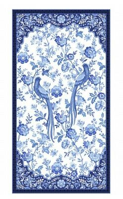 Blue Rhapsody Quilt Panel * New * Gorgeous * Free Post *