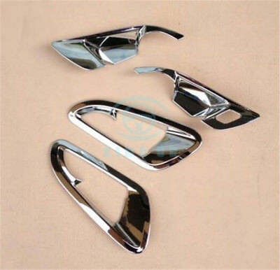 For Chevrolet Cruze 17-18 Chrome Car Indoor Side Handle Bowl Cover Trim Replace