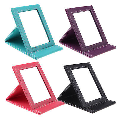 Multi-functional foldable portable cosmetic makeup mirror for travel(black)@H3E5