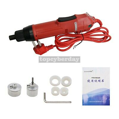 Handhold Bottle Capping Machine 800W Electric Screw Capper Sealing Machine