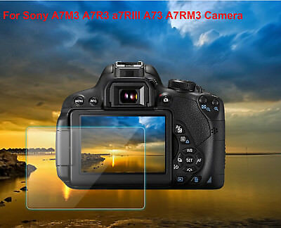 LCD Tempered Glass Screen  Protector for Sony A7M3 A7R3 a7RIII A73 A7RM3 Camera