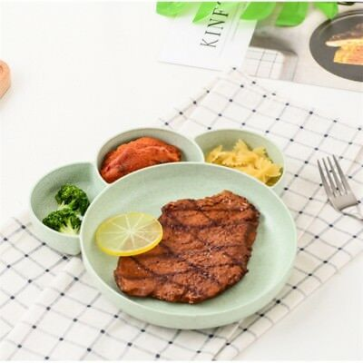 Cute Home Kitchen Placemat Baby Kids Table Food Dish Tray Plate Bowl Child Gift