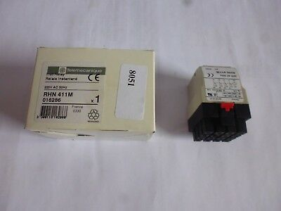 RHN 411M / 220 telemecanique relai relay: 016286