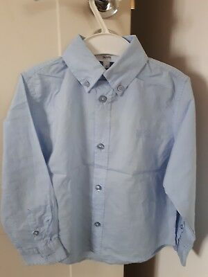 Used Boss boy long sleeve shirt light blue size 4